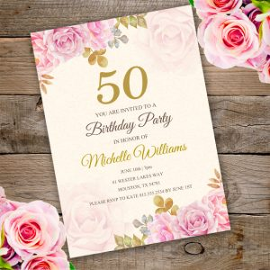 Anniversary Birthday Invitation u2013 Edit with Adobe reader & Camping Tent Party Invitation Template - edit with Adobe ...